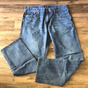 Men's Lucky Brand 221 Slim Straight Jeans size 34
